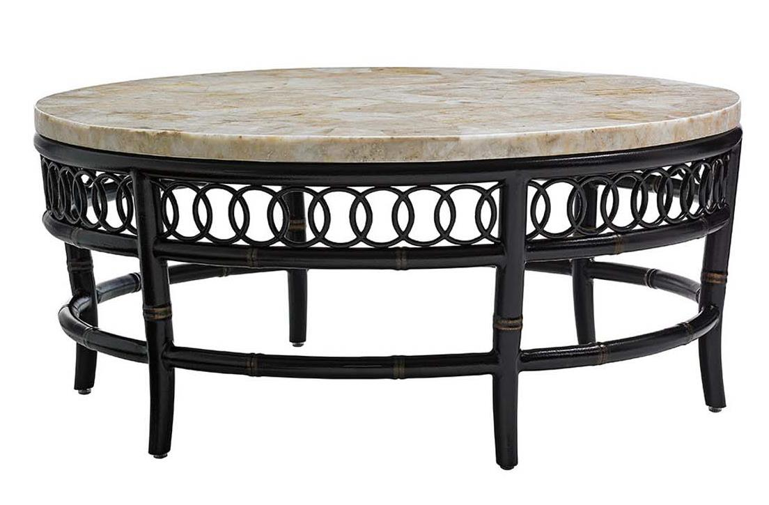 Marimba Round Cocktail Table by Tommy Bahama Outdoor Living at Baer's Furniture
