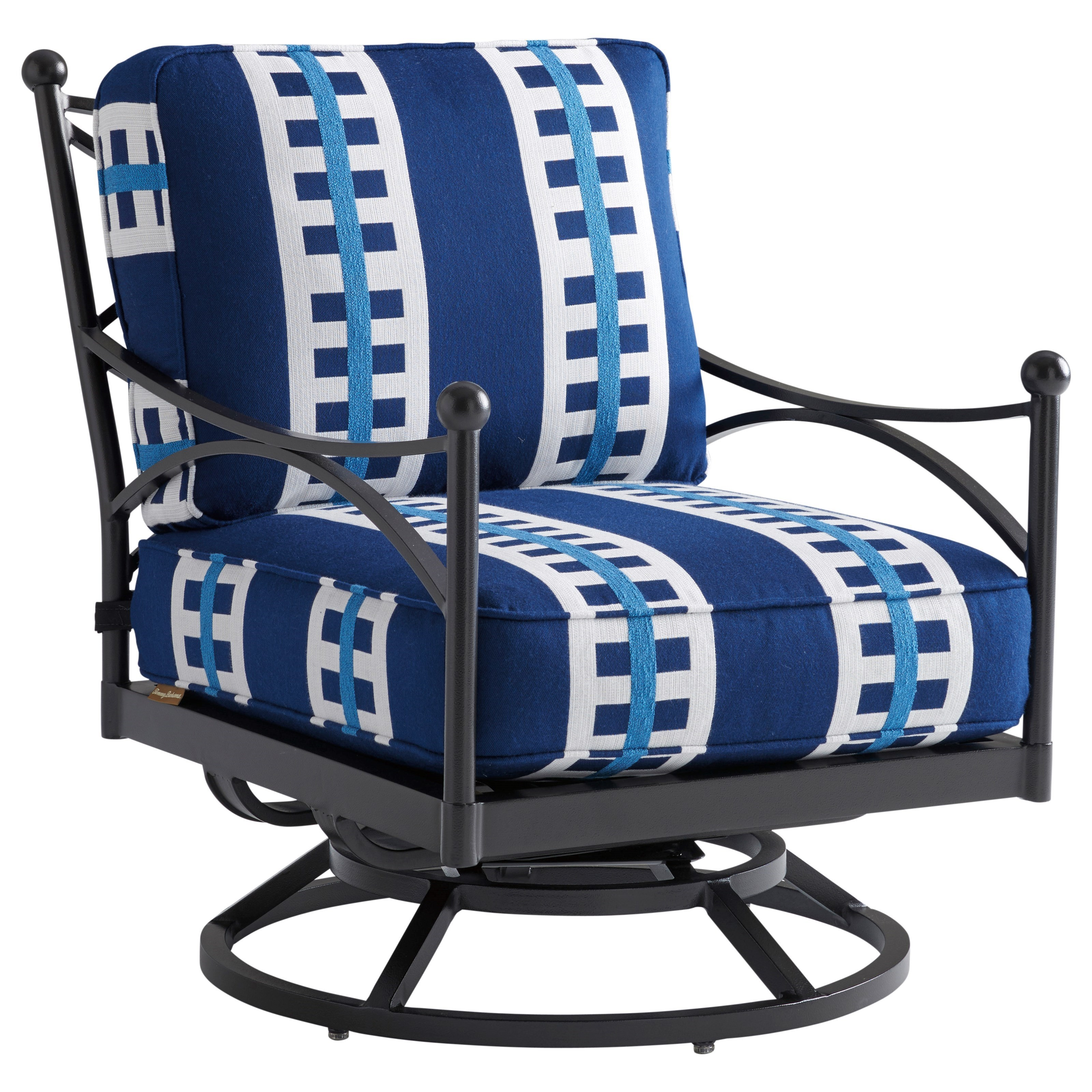 Pavlova Swivel Lounge Chair by Tommy Bahama Outdoor Living at Baer's Furniture