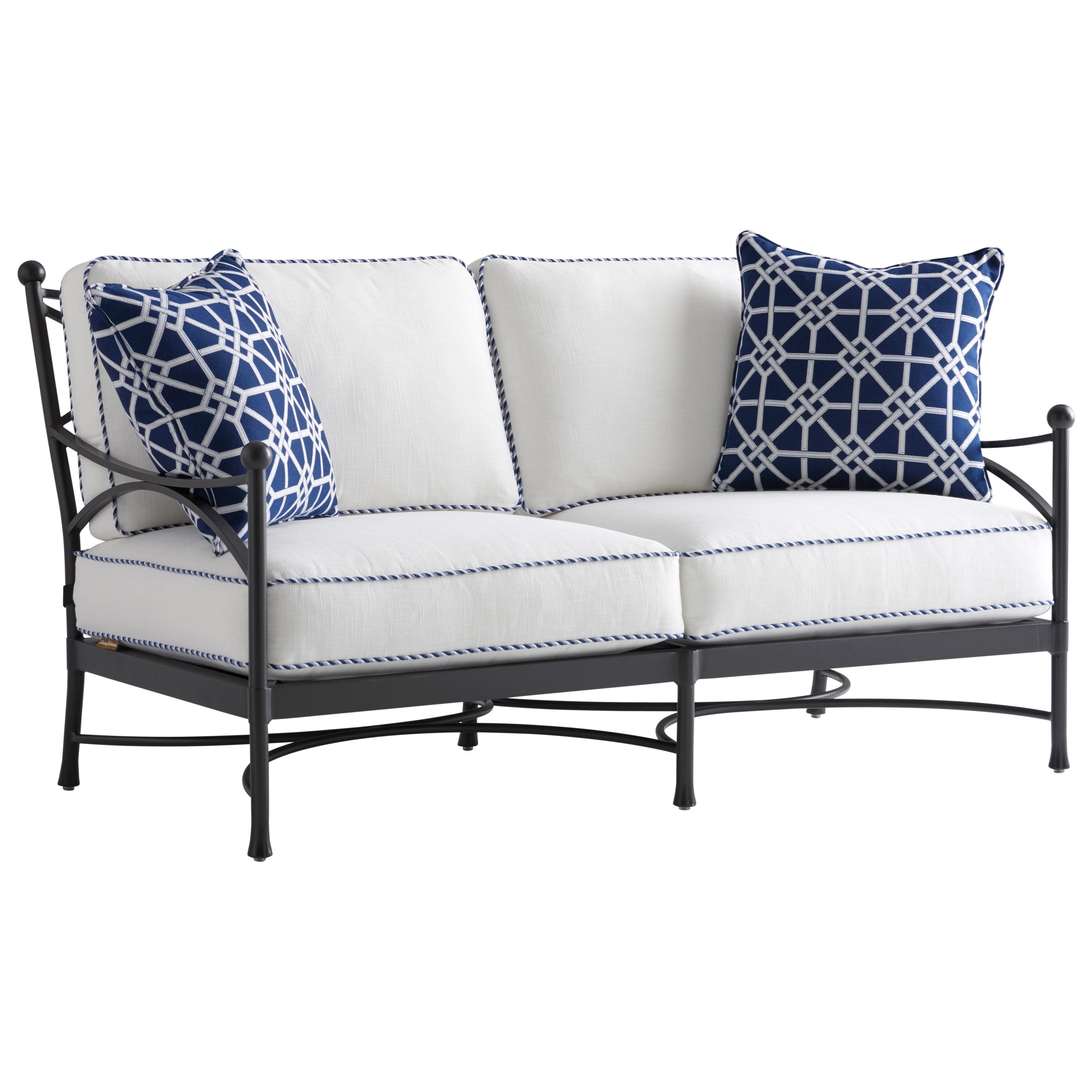 Pavlova Outdoor Loveseat by Tommy Bahama Outdoor Living at Baer's Furniture
