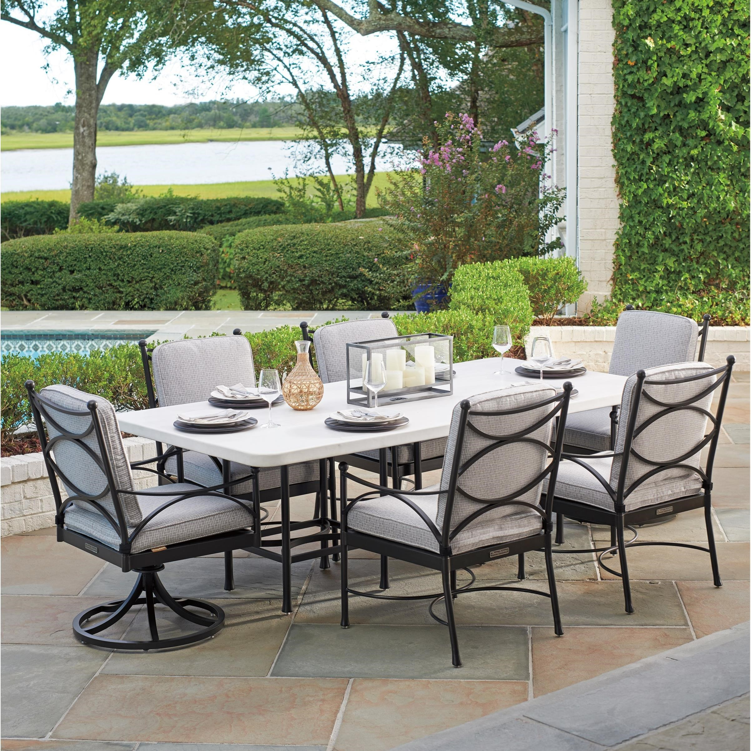 Pavlova 7 Piece Outdoor Dining Set by Tommy Bahama Outdoor Living at Jacksonville Furniture Mart