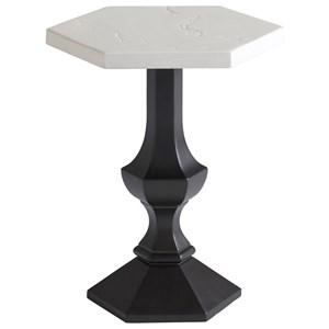 Outdoor Hexagonal Accent Table