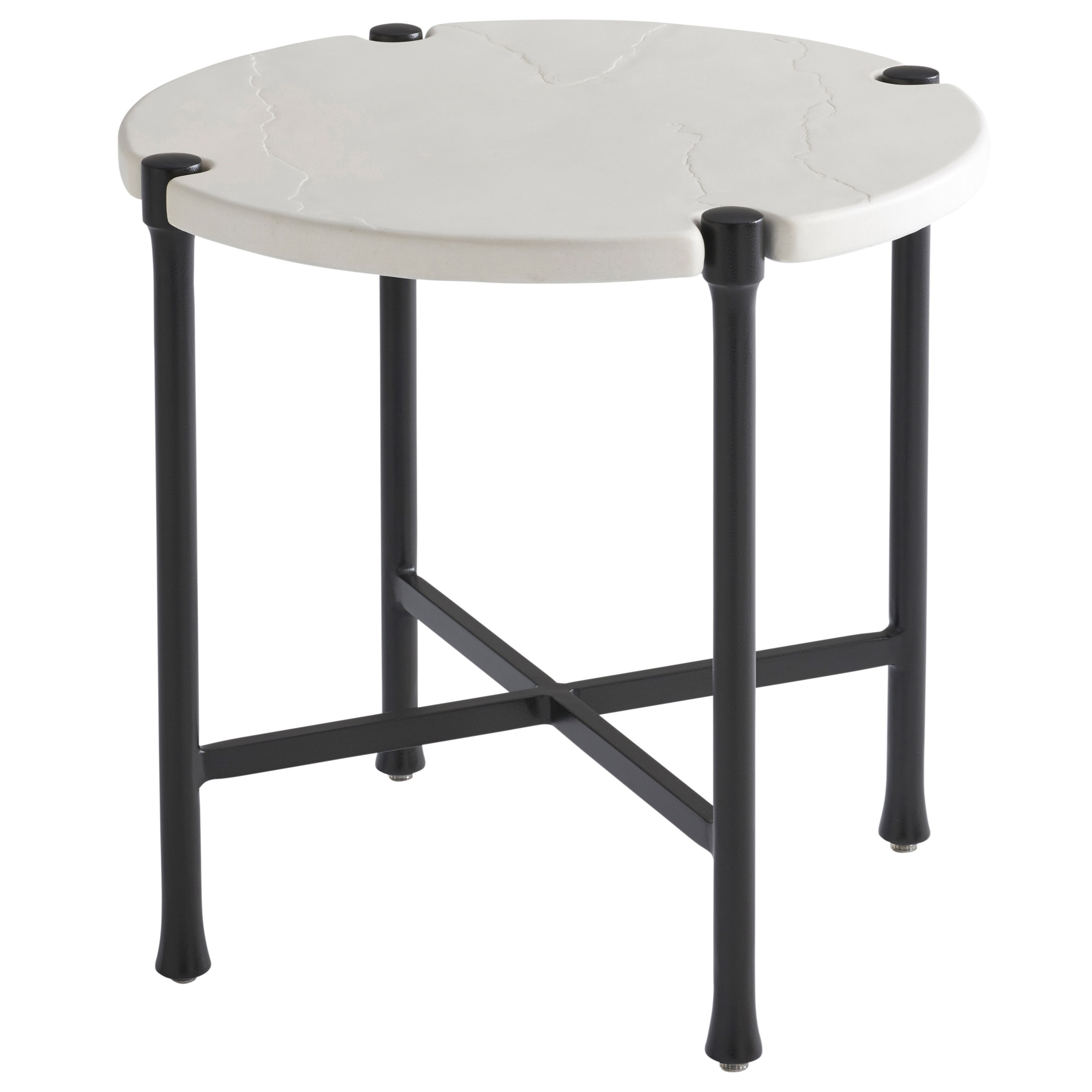Pavlova Outdoor Round End Table by Tommy Bahama Outdoor Living at Baer's Furniture