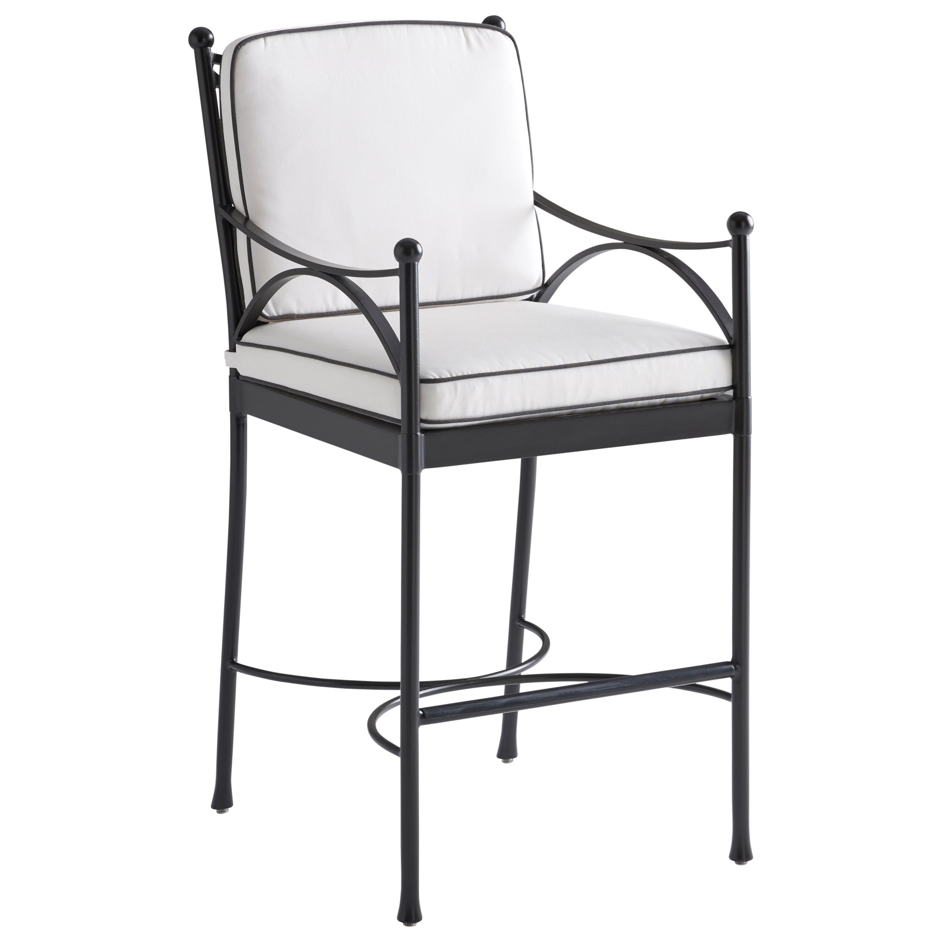 Pavlova Outdoor Bar Stool by Tommy Bahama Outdoor Living at Jacksonville Furniture Mart