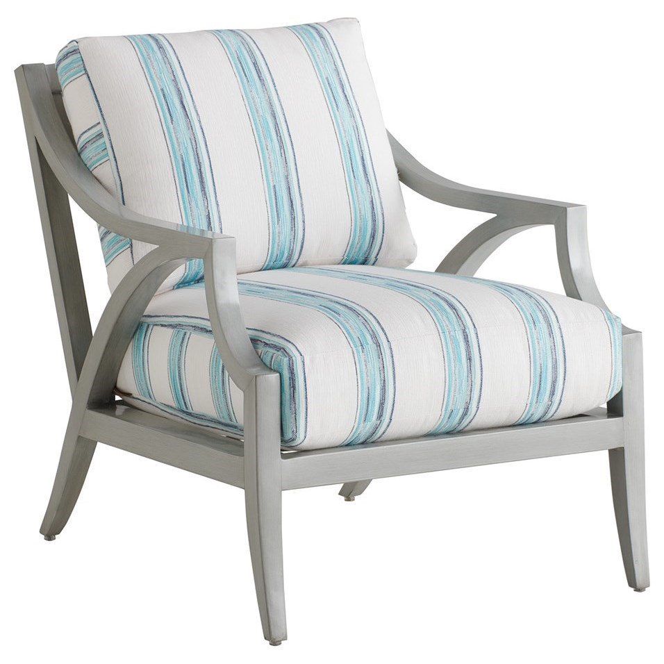Silver Sands Lounge Chair by Tommy Bahama Outdoor Living at Baer's Furniture