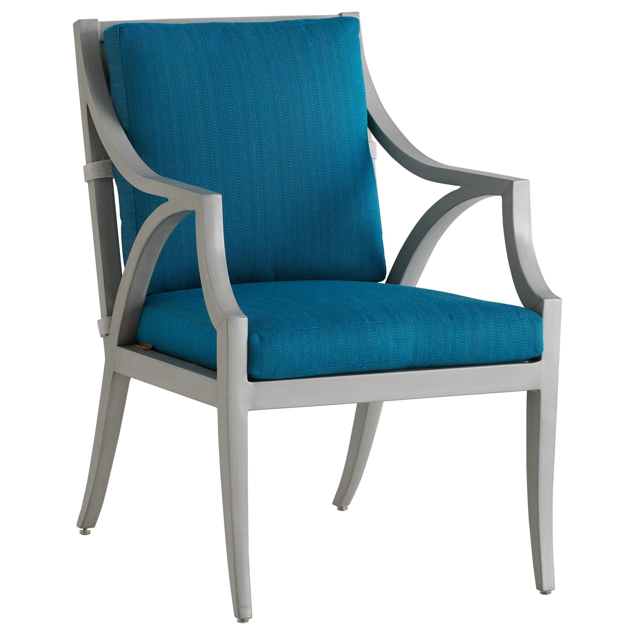 Silver Sands Arm Dining Chair by Tommy Bahama Outdoor Living at Baer's Furniture