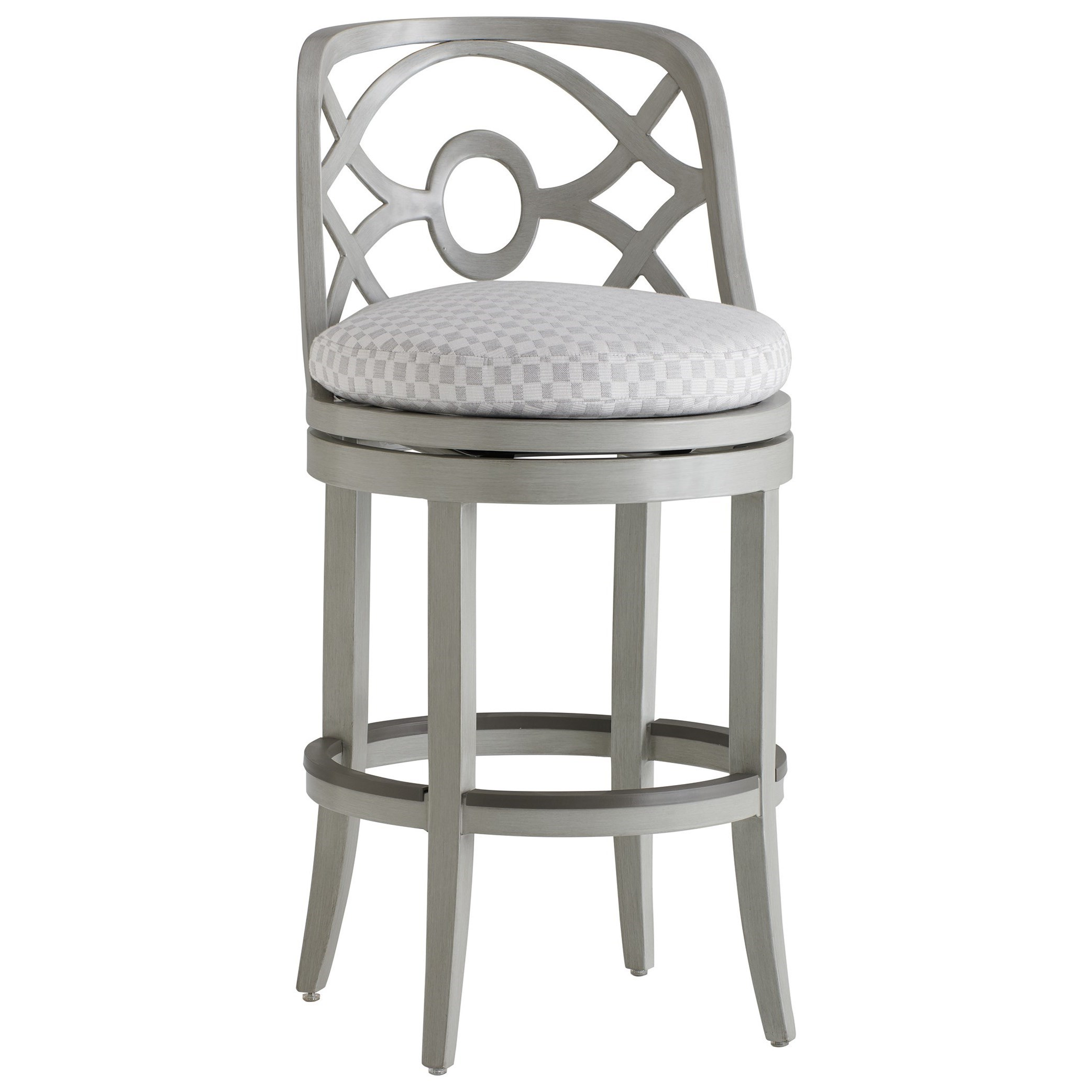 Silver Sands Swivel Bar Stool by Tommy Bahama Outdoor Living at Baer's Furniture