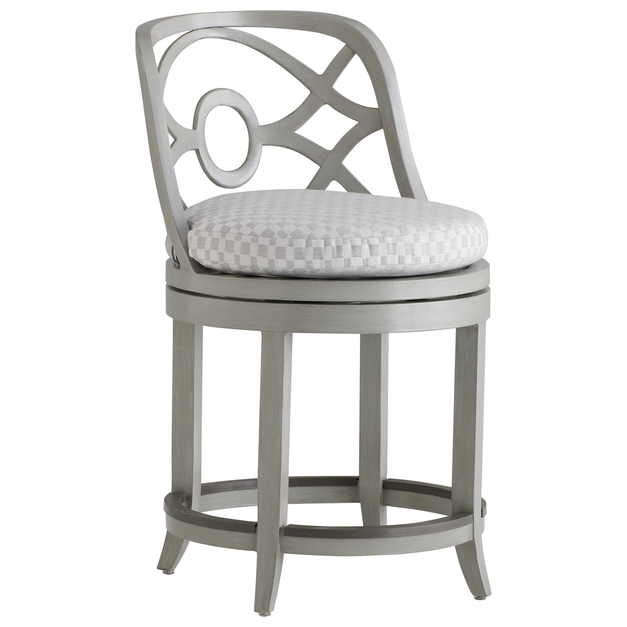 Silver Sands Swivel Counter Stool by Tommy Bahama Outdoor Living at Baer's Furniture