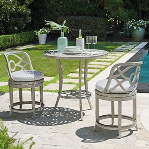Bistro Set with Counter Stools