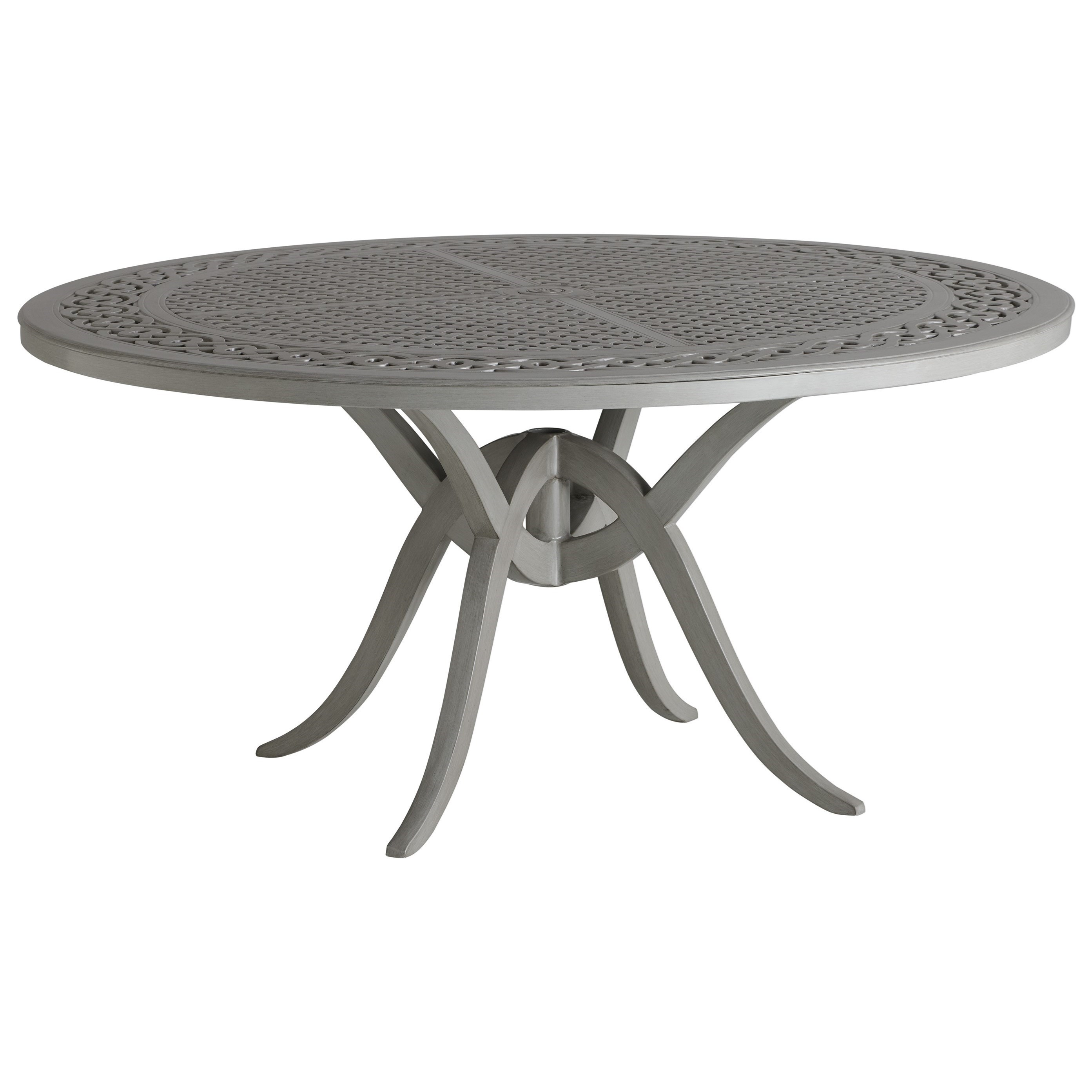 Silver Sands Round Dining Table by Tommy Bahama Outdoor Living at Baer's Furniture