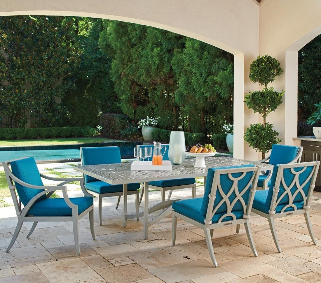 Silver Sands 7-Piece Outdoor Dining Set by Tommy Bahama Outdoor Living at Baer's Furniture