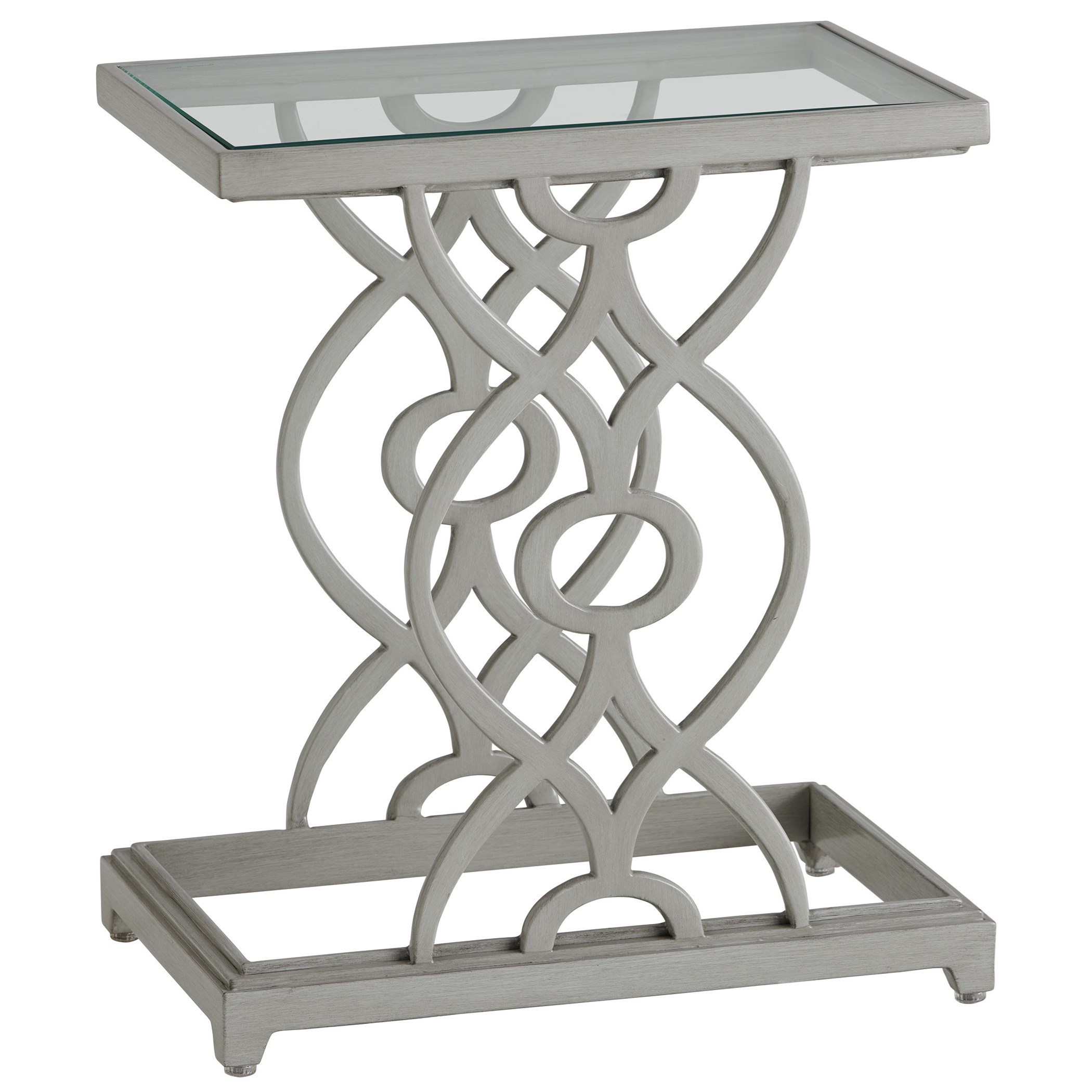 Silver Sands Accent Table by Tommy Bahama Outdoor Living at Baer's Furniture