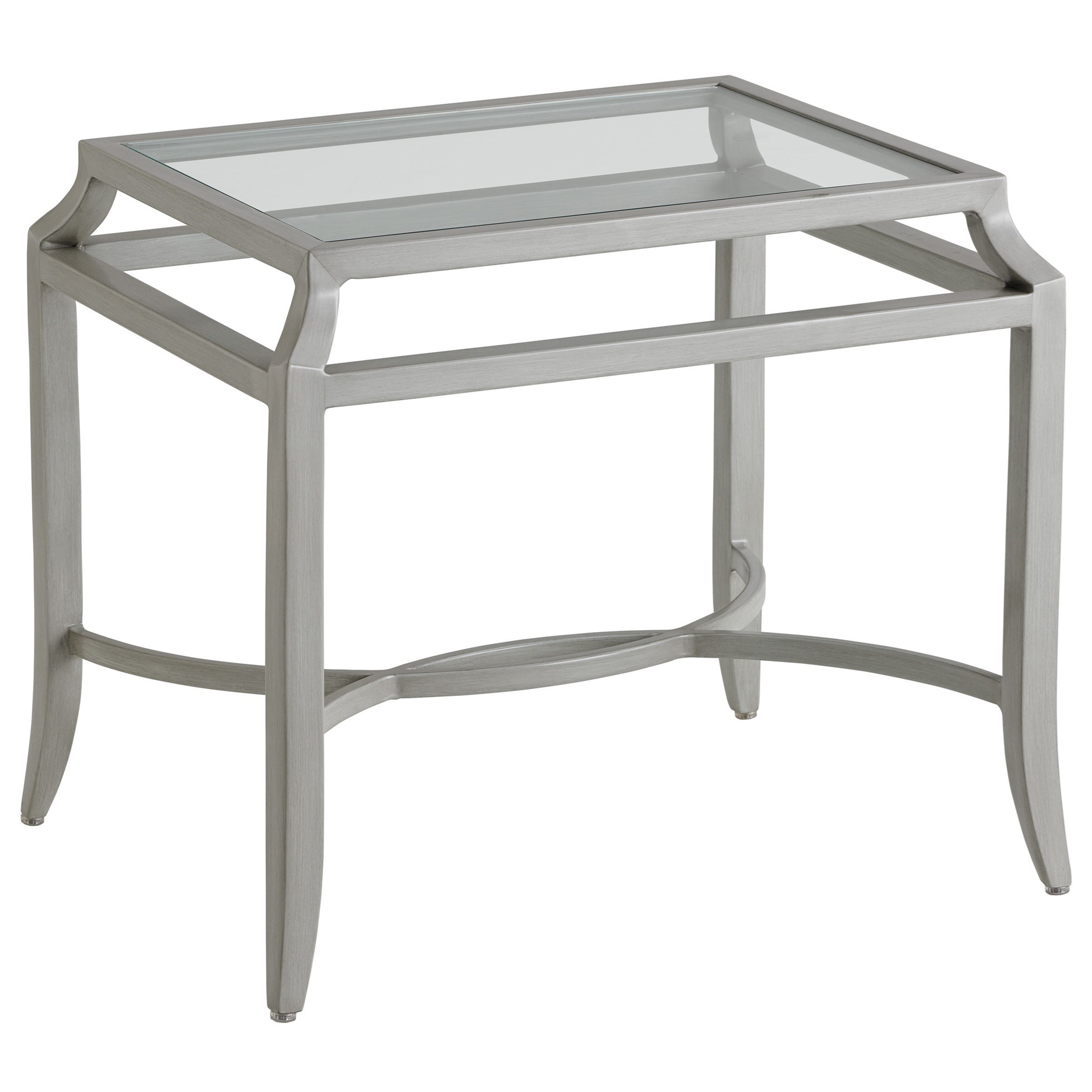 Silver Sands End Table by Tommy Bahama Outdoor Living at Jacksonville Furniture Mart
