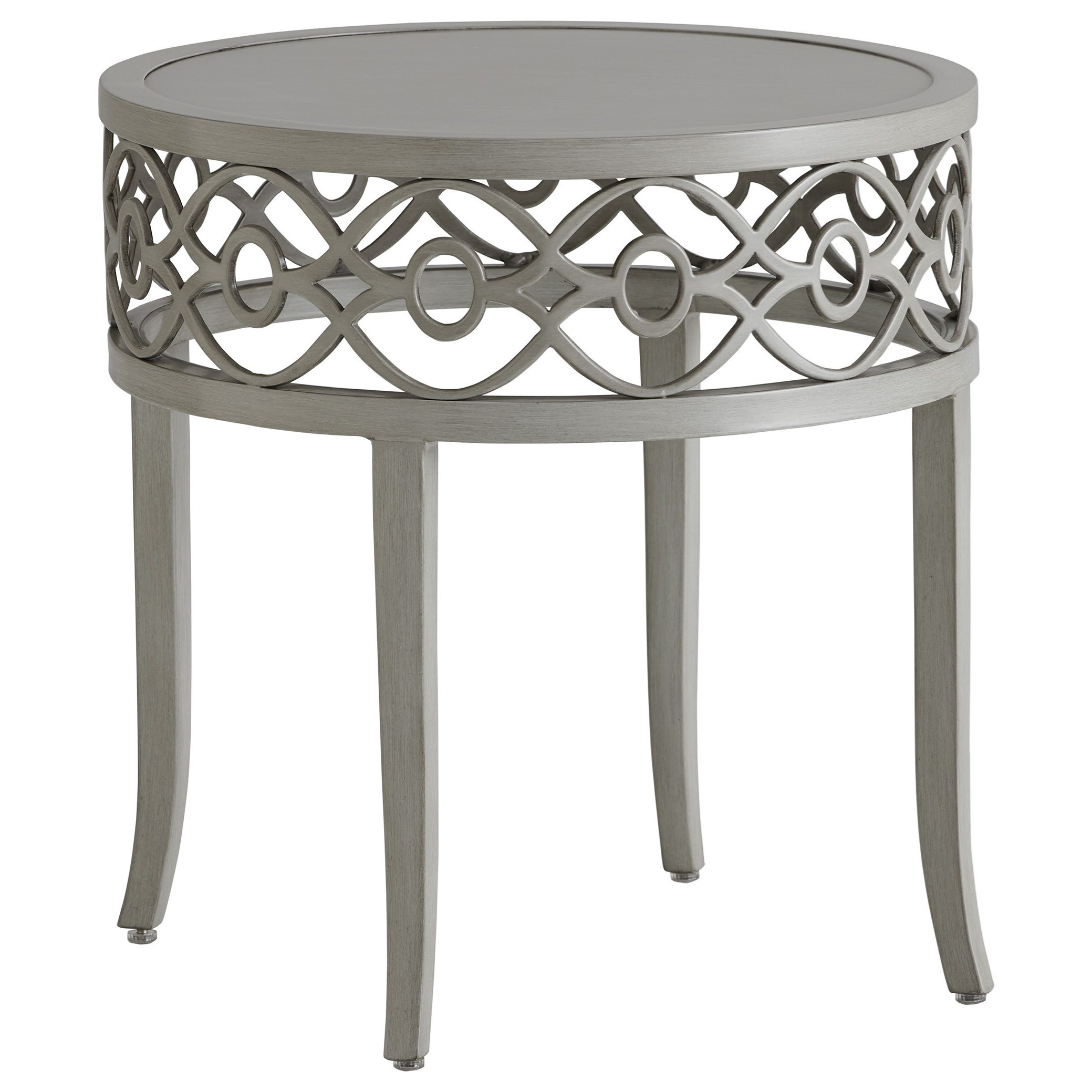 Silver Sands End Table by Tommy Bahama Outdoor Living at Baer's Furniture