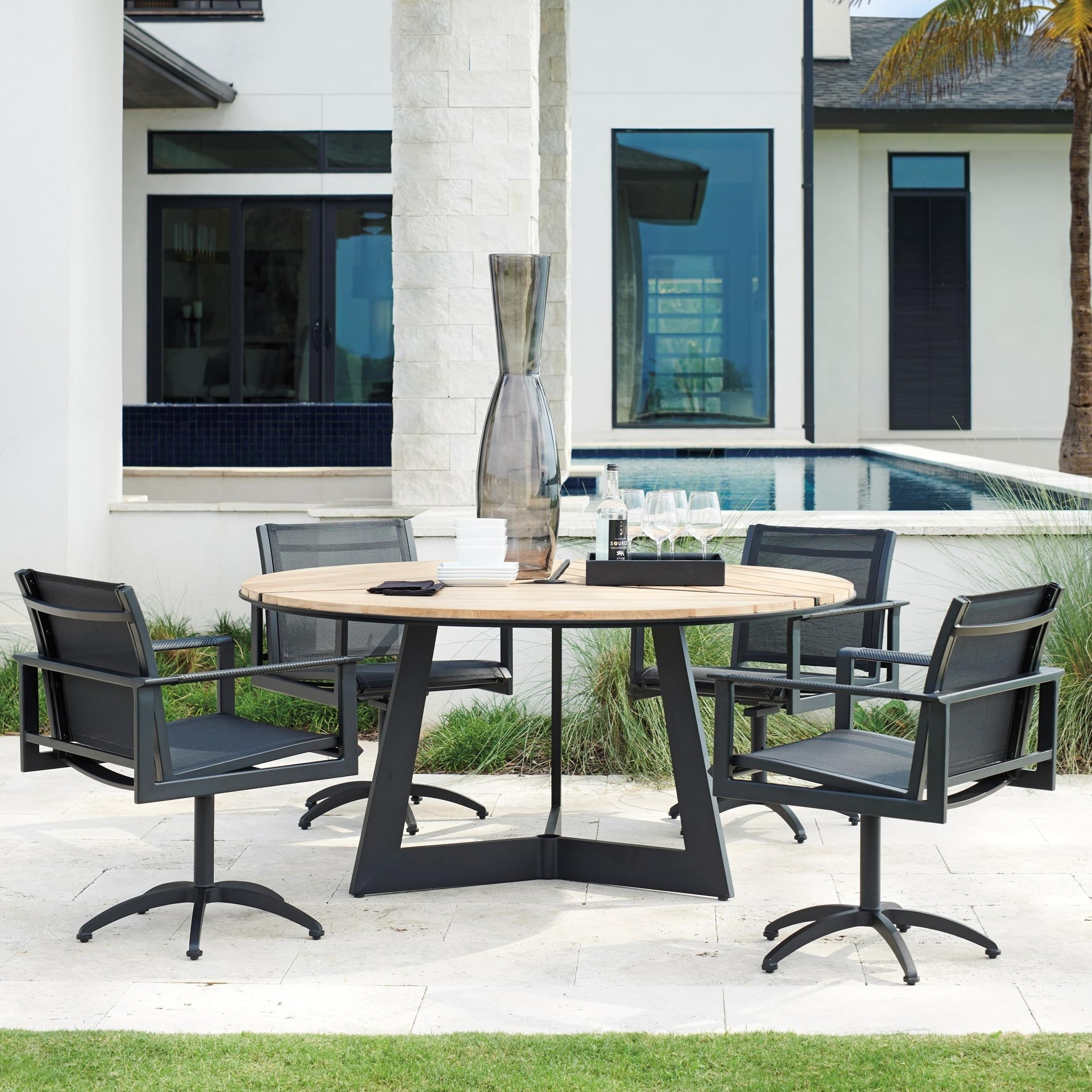 South Beach 5-Piece Outdoor Dining Set by Tommy Bahama Outdoor Living at Baer's Furniture