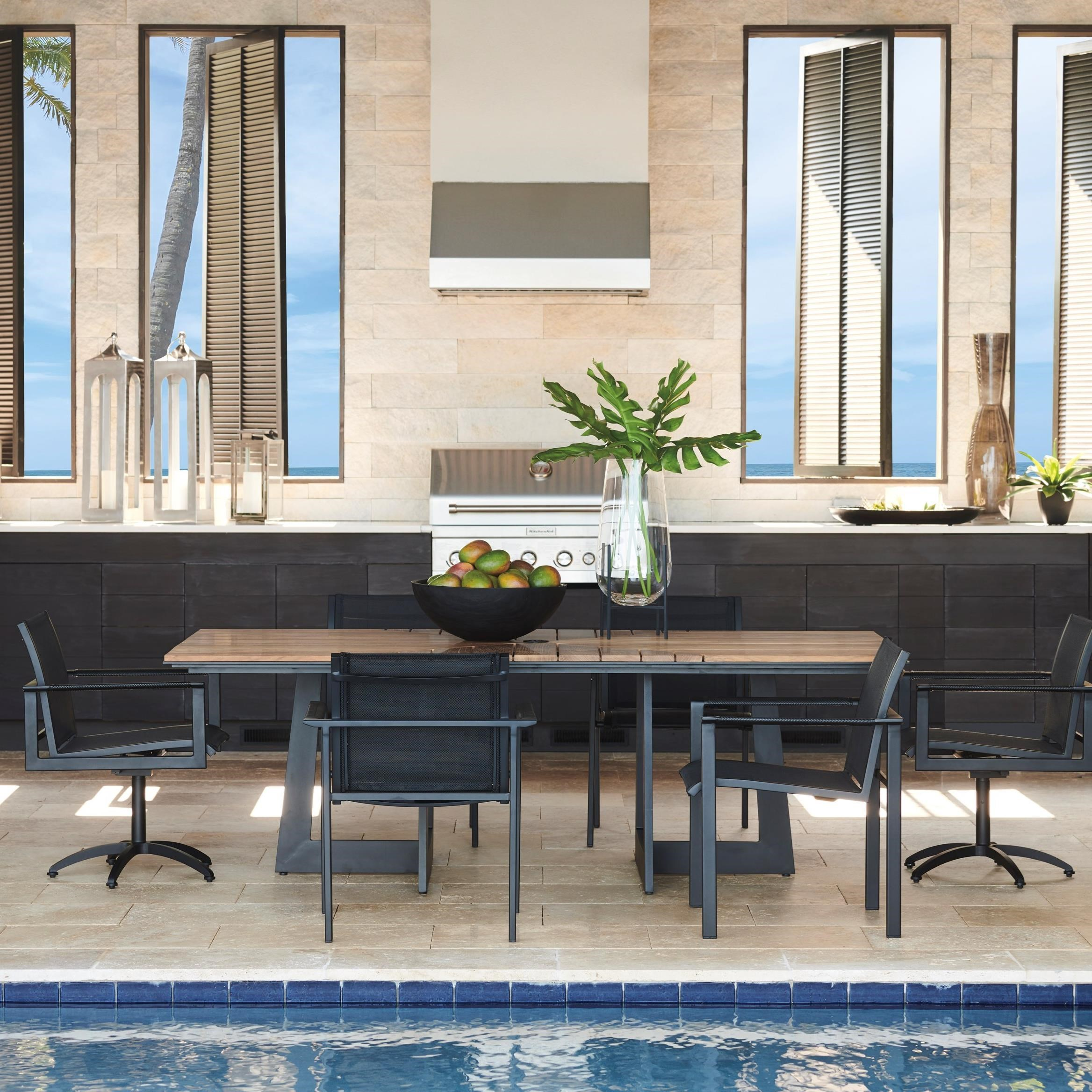 South Beach 7-Piece Outdoor Dining Set by Tommy Bahama Outdoor Living at Baer's Furniture