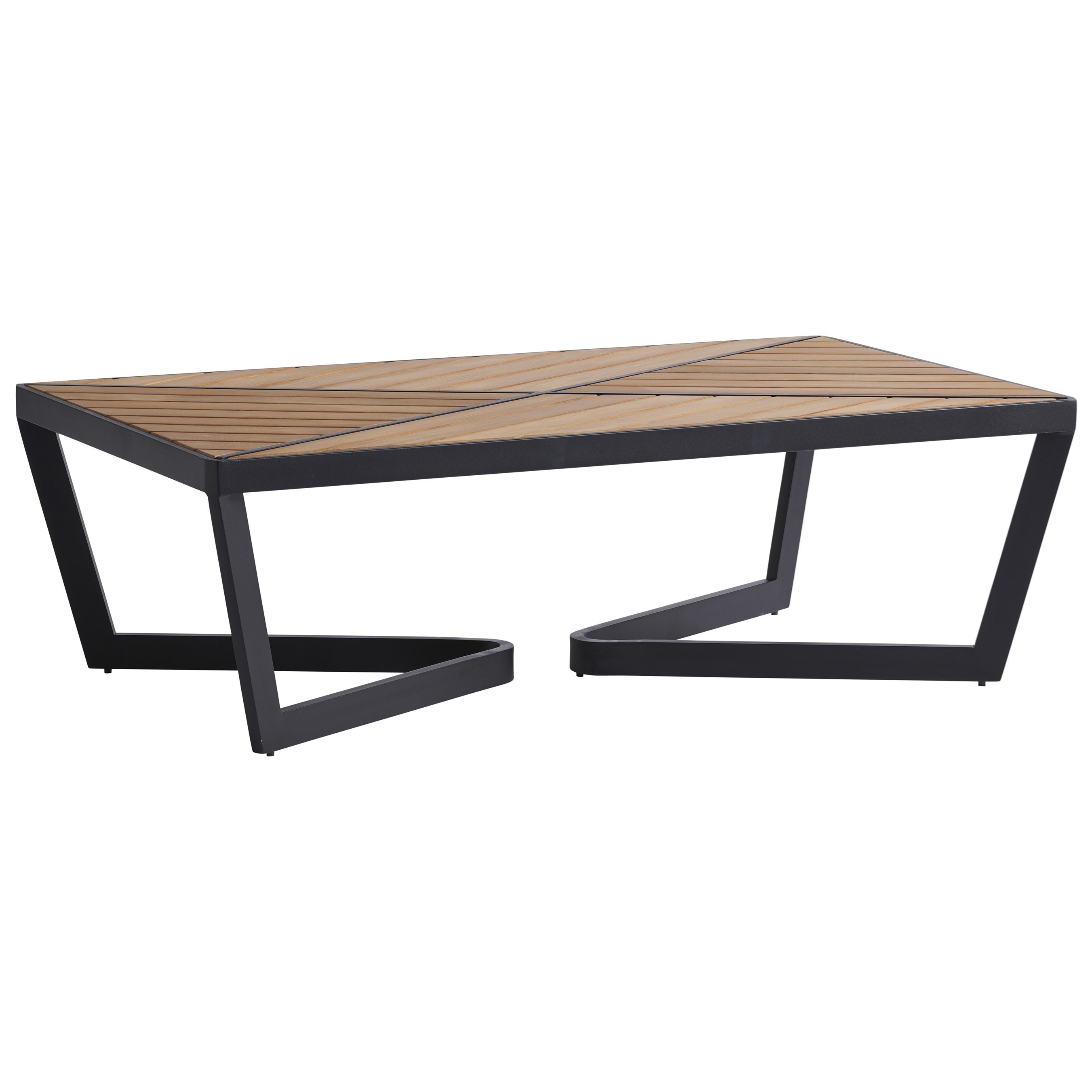 South Beach Rectangular Cocktail Table by Tommy Bahama Outdoor Living at Baer's Furniture