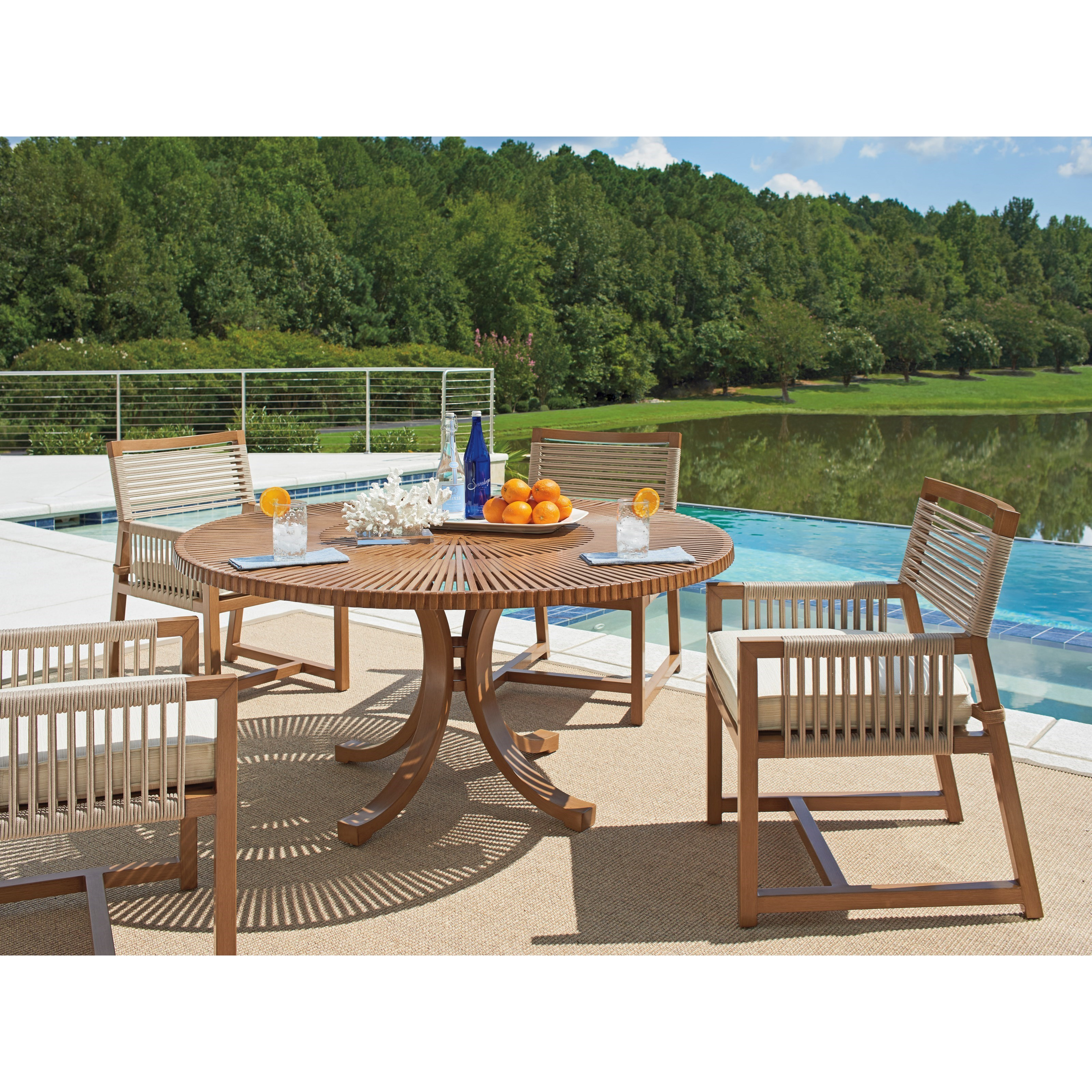 St Tropez 5-Piece Outdoor Dining Set by Tommy Bahama Outdoor Living at Baer's Furniture
