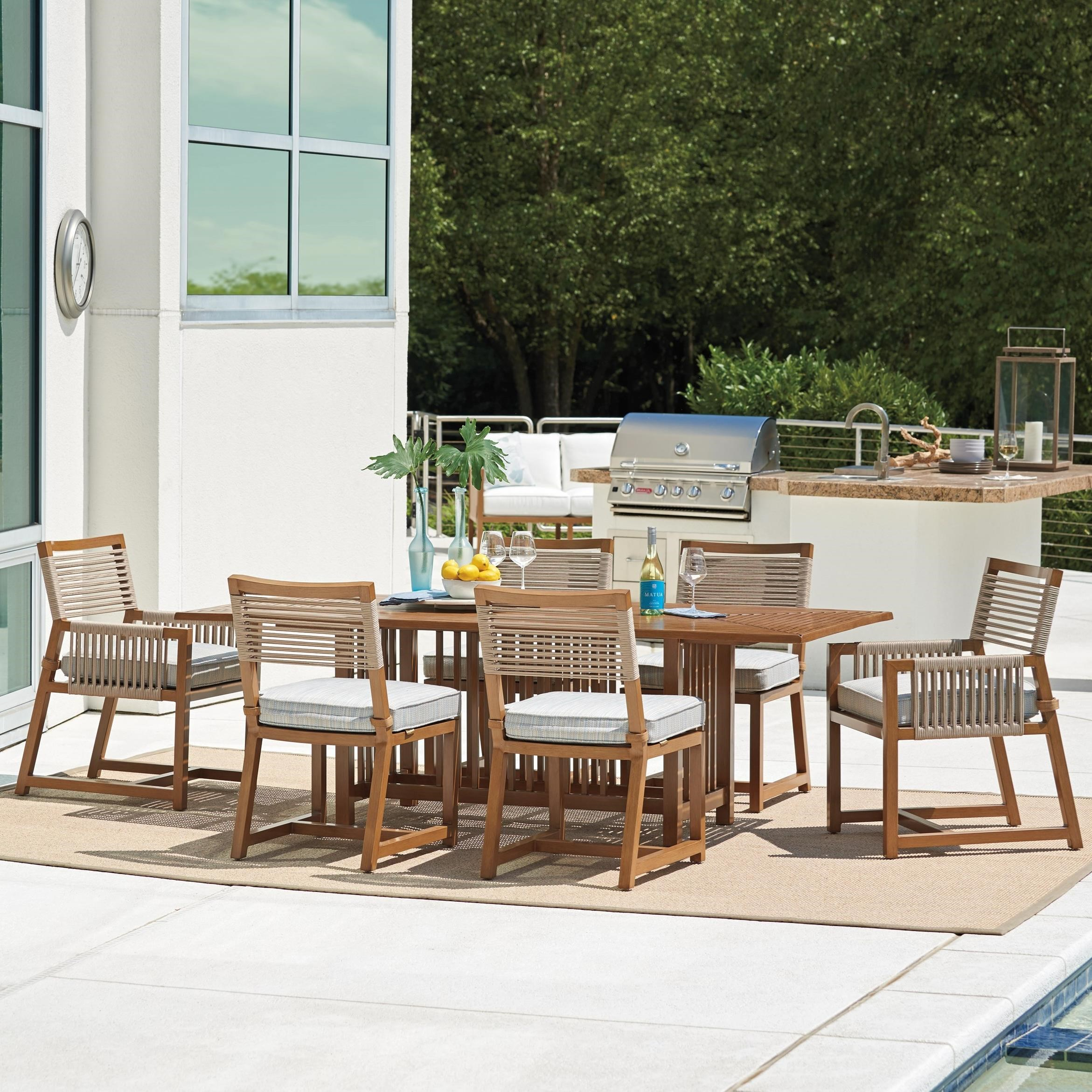 St Tropez 7-Piece Outdoor Dining Set by Tommy Bahama Outdoor Living at Baer's Furniture