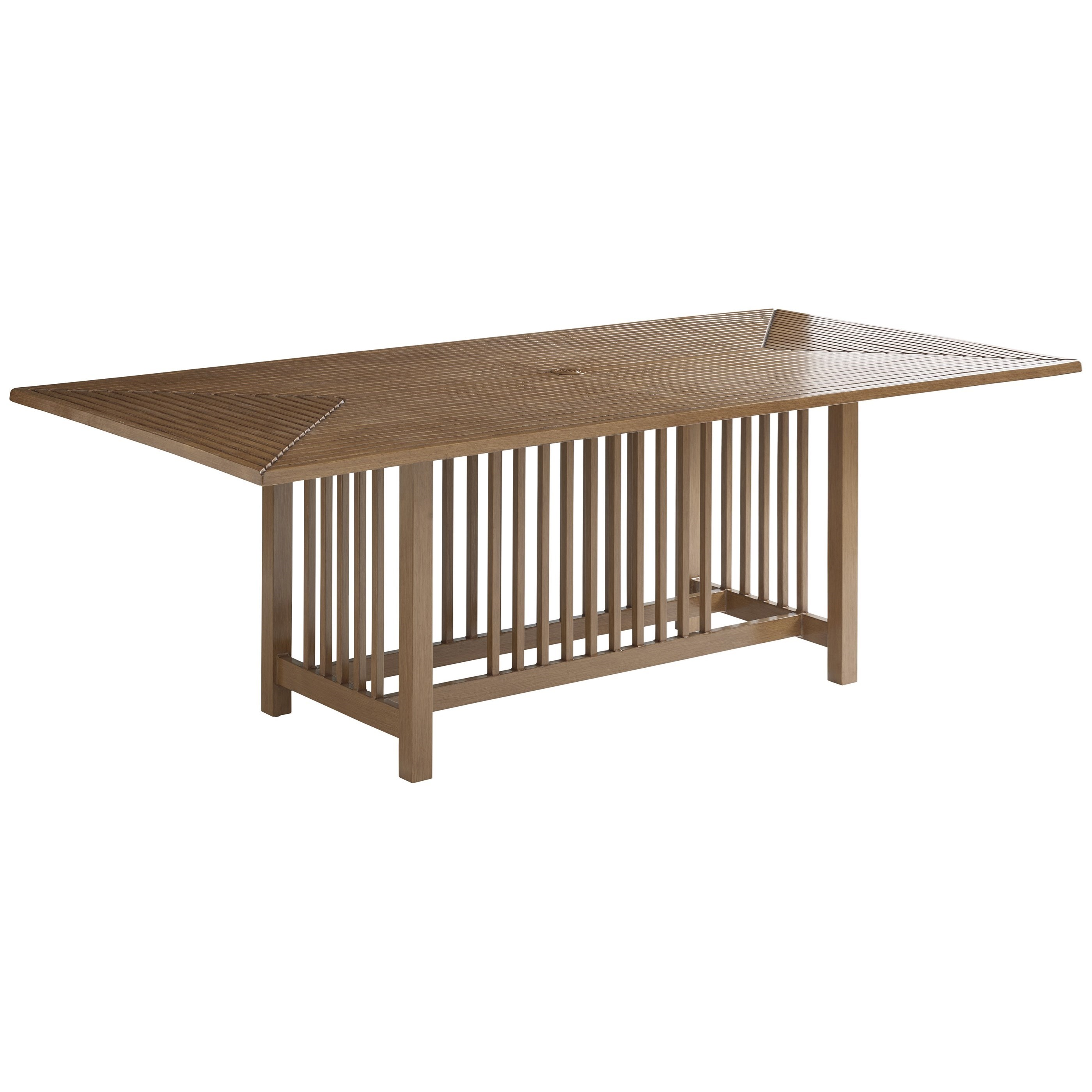 St Tropez Rectangular Dining Table by Tommy Bahama Outdoor Living at Baer's Furniture