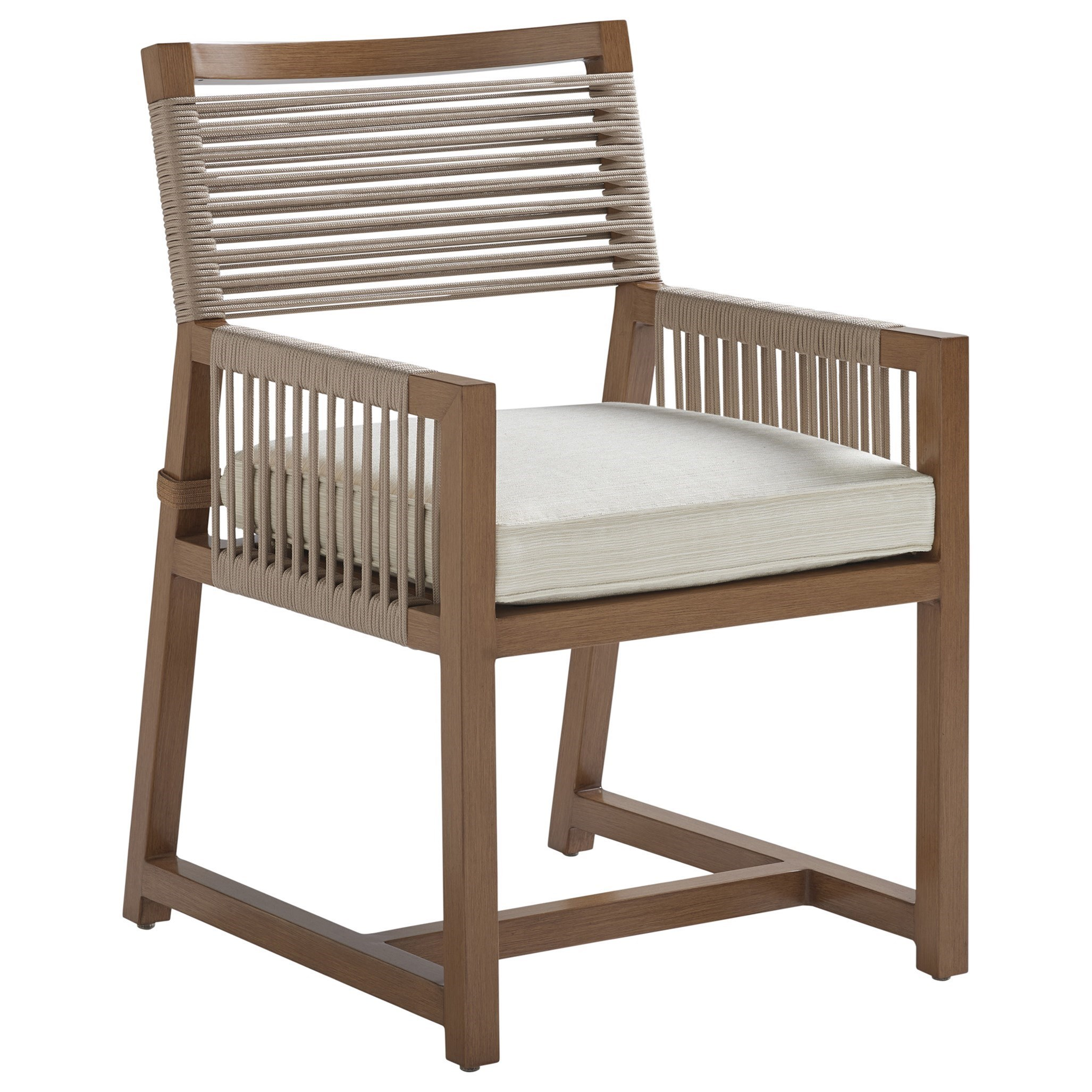 St Tropez Arm Dining Chair by Tommy Bahama Outdoor Living at Baer's Furniture
