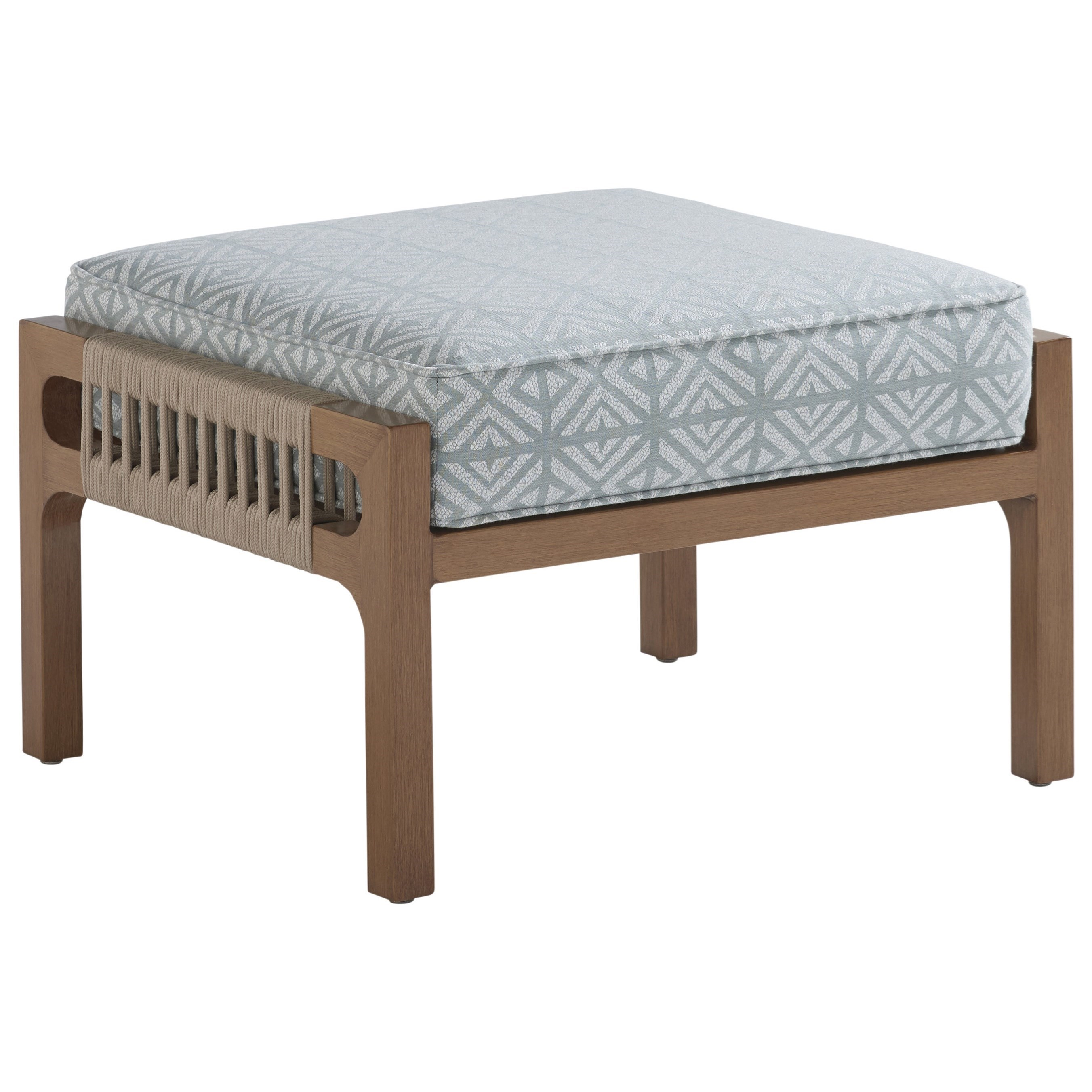 St Tropez Ottoman by Tommy Bahama Outdoor Living at Baer's Furniture