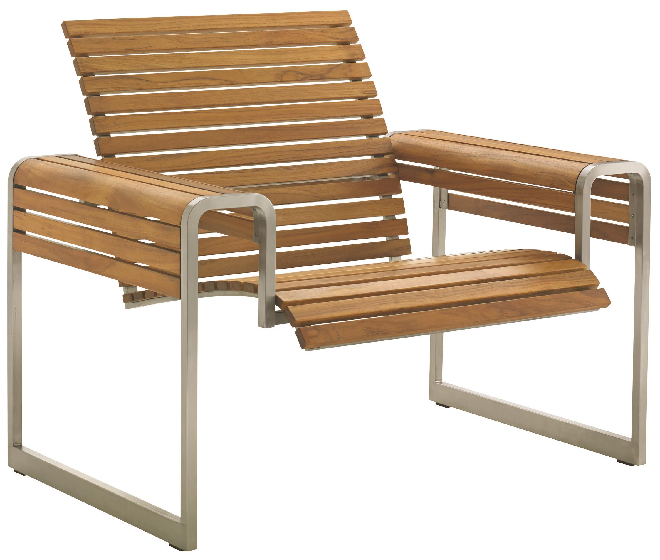 Tres Chic Lounge Chair Frame by Tommy Bahama Outdoor Living at Furniture Superstore - Rochester, MN