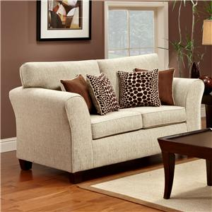 Townhouse 3100 Upholstered Loveseat