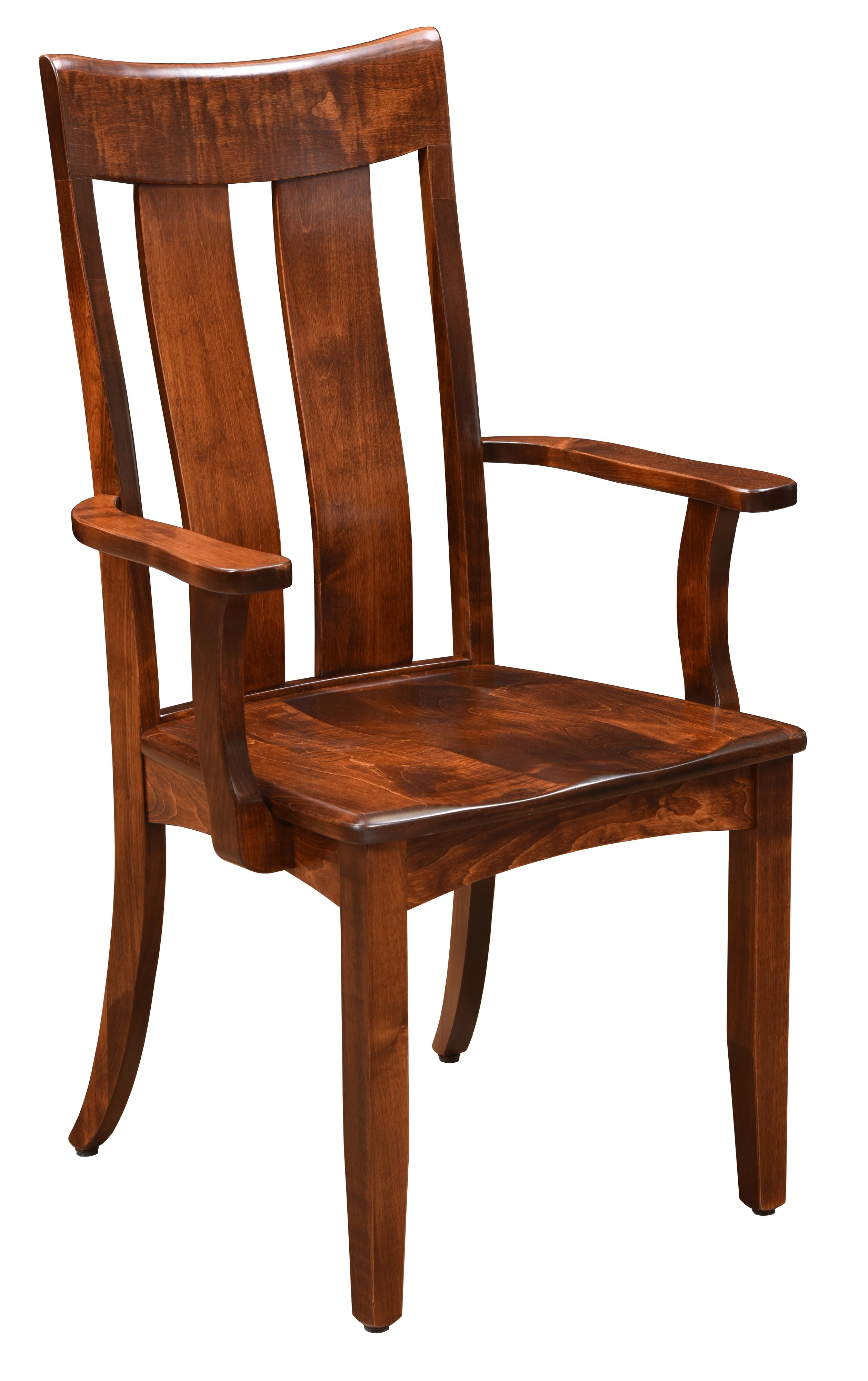 Arlington <b>Customizable</b> Arm Chair by TRAILWAY AMISH at Prime Brothers Furniture