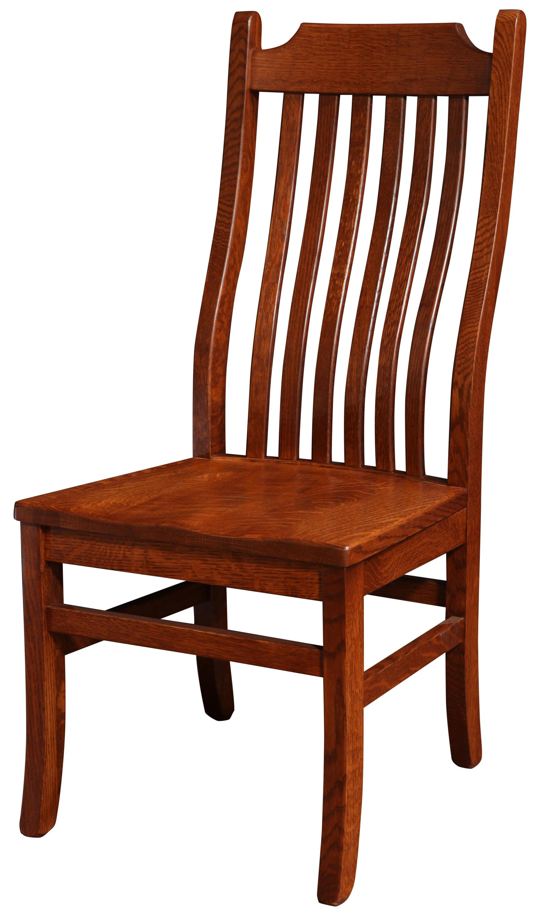 Copper Canyon Side Chair by Trailway Wood at Lucas Furniture & Mattress
