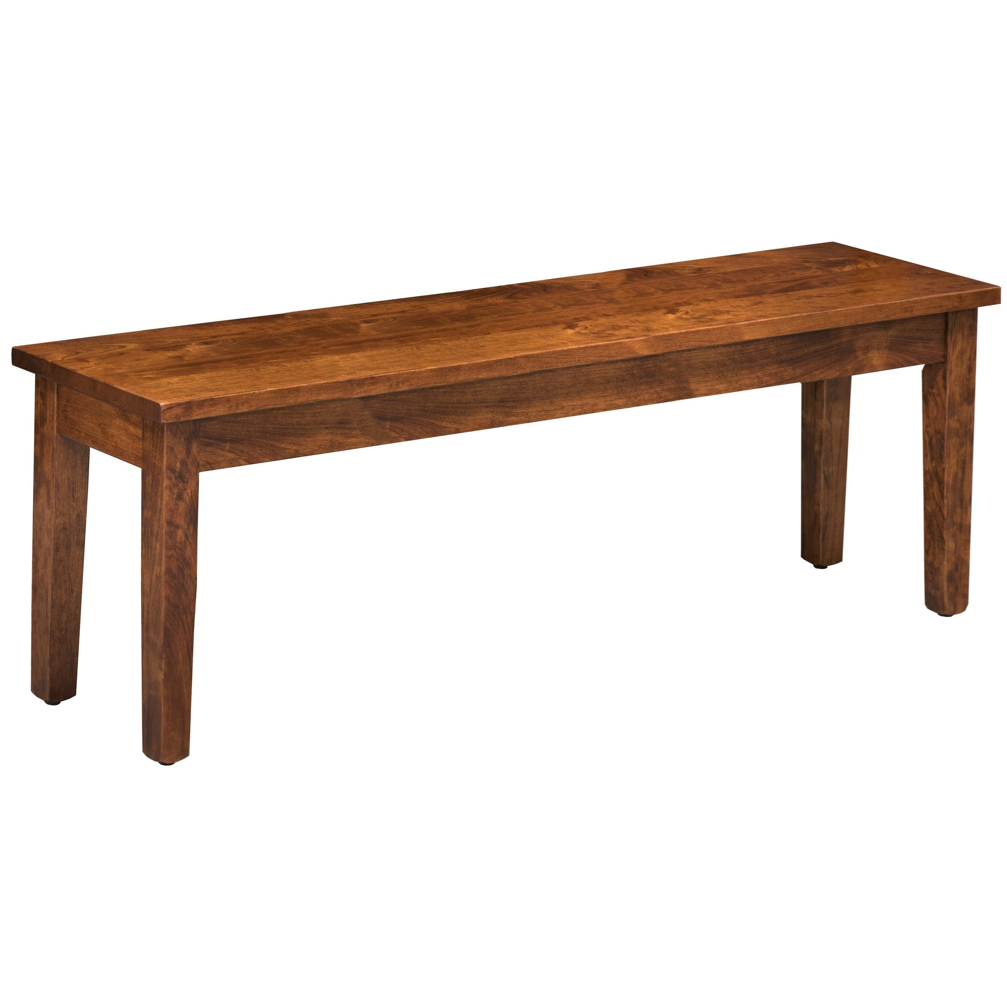 """Easton Pike 34"""" Bench by Trailway Wood at Lucas Furniture & Mattress"""