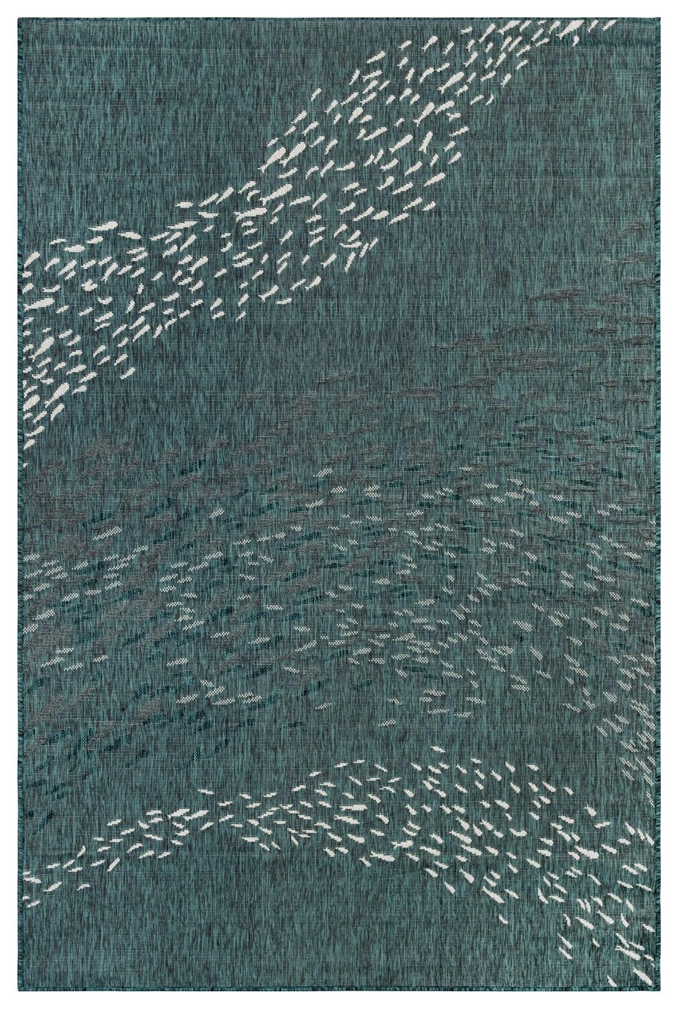 "Caramel School Of Fish 4'10"" X 7'6"" Rug by Trans-Ocean Rugs at Johnny Janosik"
