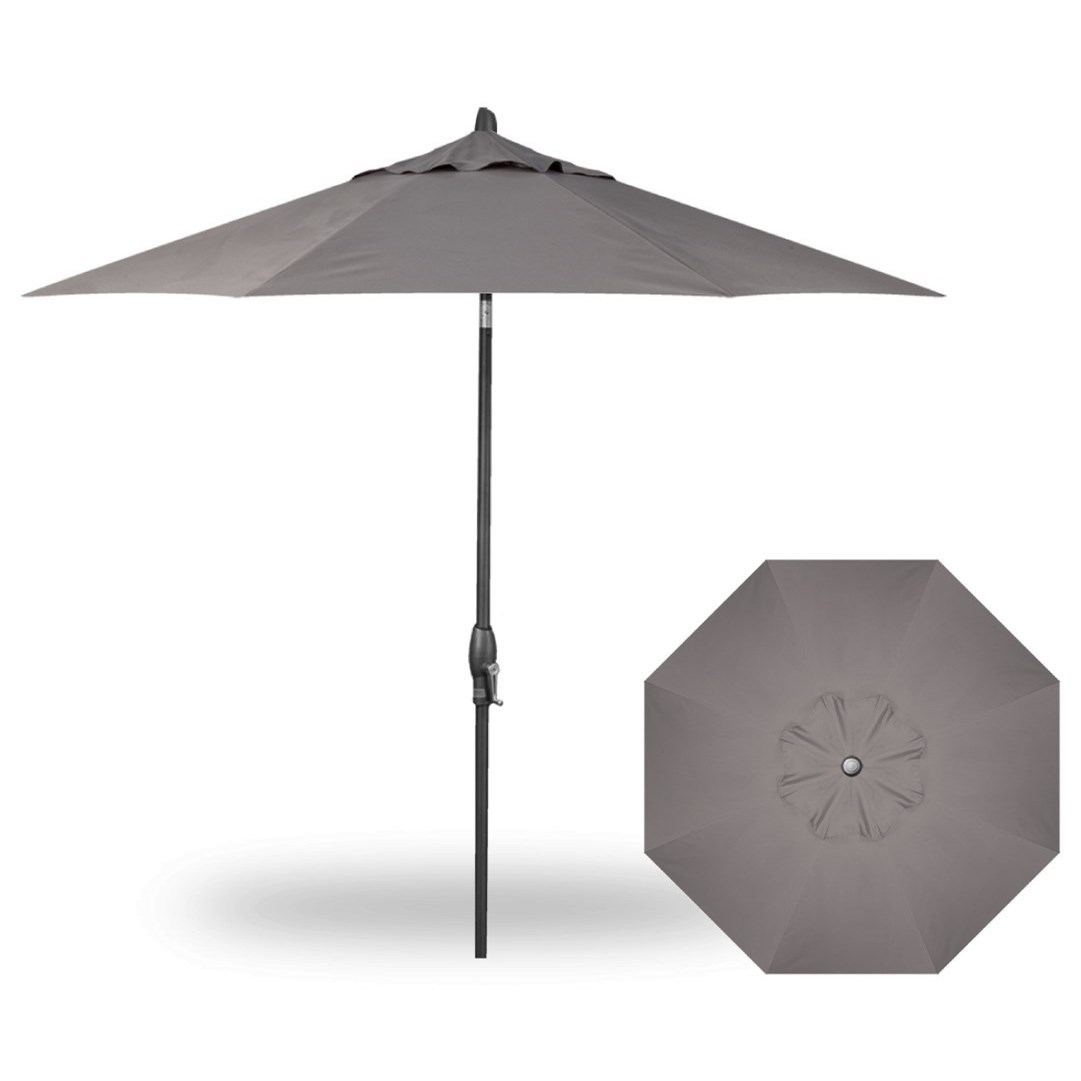 Market Umbrellas 9' Auto Tilt Umbrella by Treasure Garden at Esprit Decor Home Furnishings