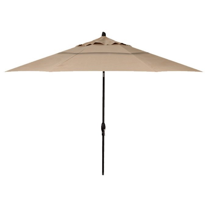 Market Umbrellas 11' Auto Tilt Market Umbrella by Treasure Garden at Becker Furniture