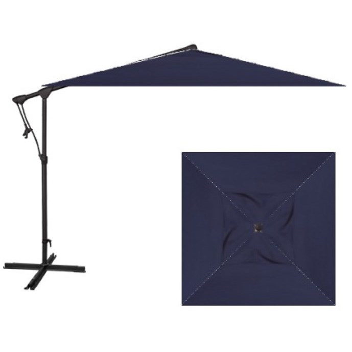 Cantilever Umbrellas 8.5' Square Cantilever Umbrella by Treasure Garden at Wilson's Furniture