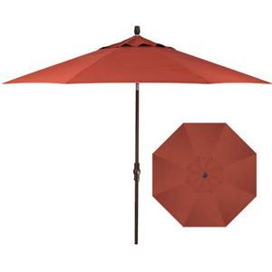 Treasure Garden Market Umbrellas 9' Collar Tilt Umbrella