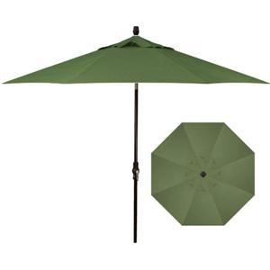 Treasure Garden Market Umbrellas 9'Collar Tilt Umbrella