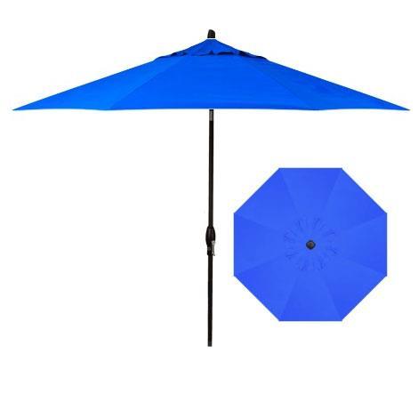 Market Umbrellas 9' Auto Market Tilt Umbrella by Treasure Garden at Darvin Furniture