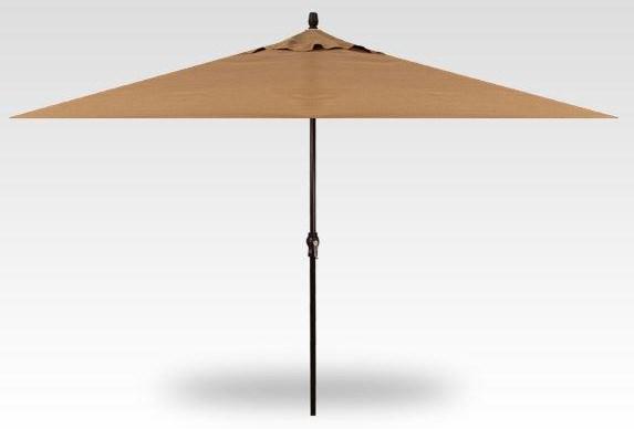 Umbrellas 8'x11' Crank Lift Rectangle Umbrellas by Treasure Garden at Johnny Janosik