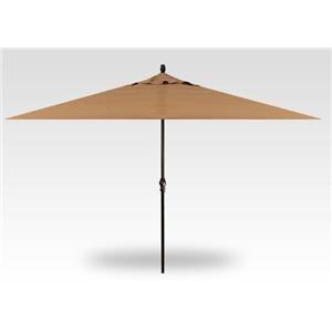 8'x11' Crank Lift Rectangle Umbrellas