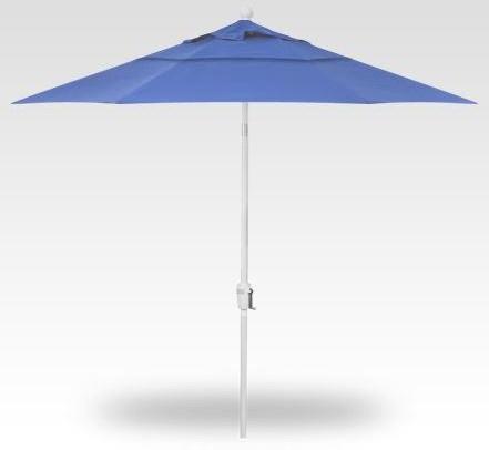Umbrellas 9' Single Wind Vent Push Button Tilt Sky by Treasure Garden at Johnny Janosik