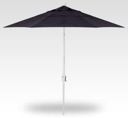 Umbrellas 9' Single Wind Vent Push Button Tilt by Treasure Garden at Johnny Janosik