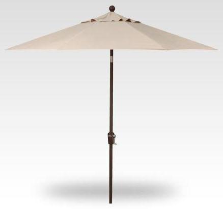 Umbrellas 9' x 6' Rectangular Umbrella by Treasure Garden at Johnny Janosik
