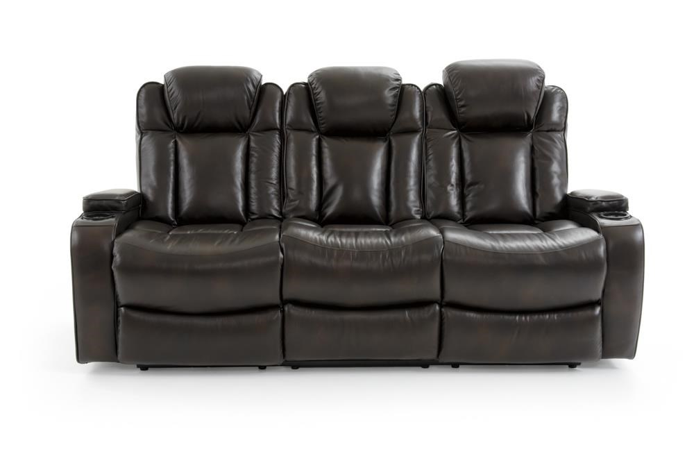 69085 Dual Power Sofa by Trend Resources International at Baer's Furniture