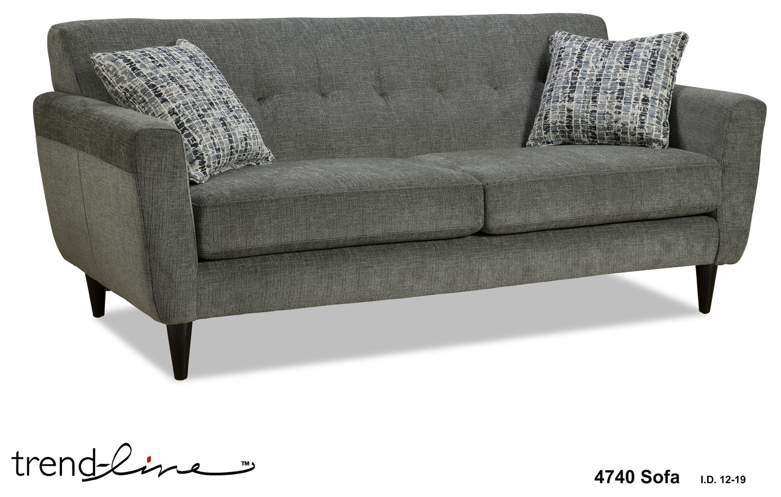 4740 Dd Sofa by Trendline at Stoney Creek Furniture