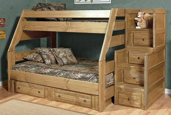 Baylor Baylor Twin/Full Bunk Bed by Trendwood at Morris Home