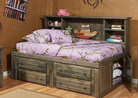 Fuller Fuller Twin Bed Set by Trendwood at Morris Home