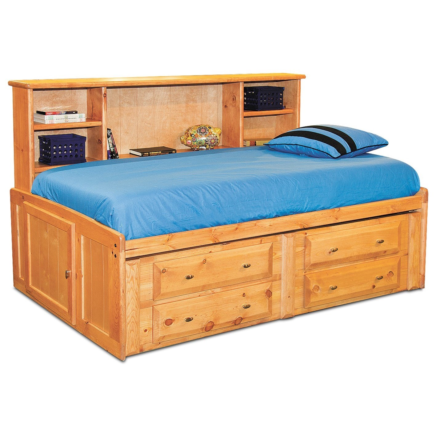 Laguna  Full Bed by Trendwood at HomeWorld Furniture