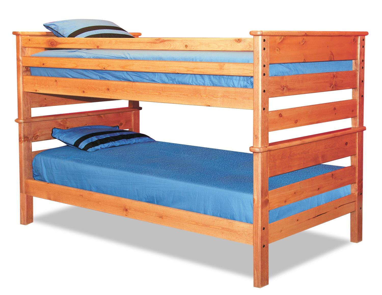 Laguna  Full/Full Bunk Bed by Trendwood at HomeWorld Furniture