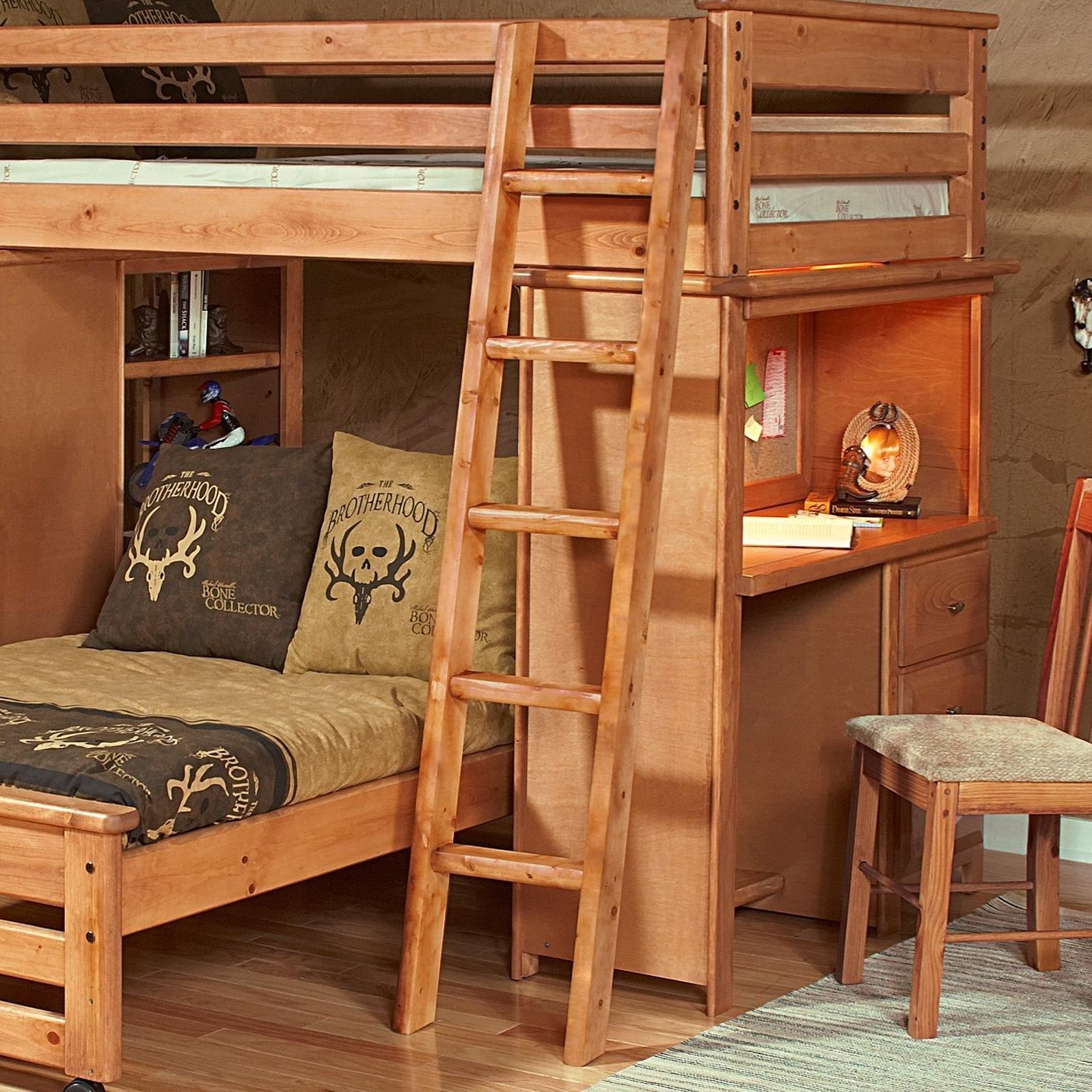 Laguna  Bunk Bed Ladder by Trendwood at HomeWorld Furniture
