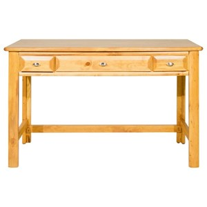 Student Table Desk with Three Drawers